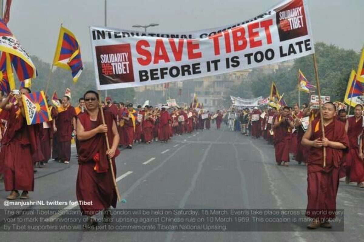 The Oppression of Tibet by China: Why is the World Silent