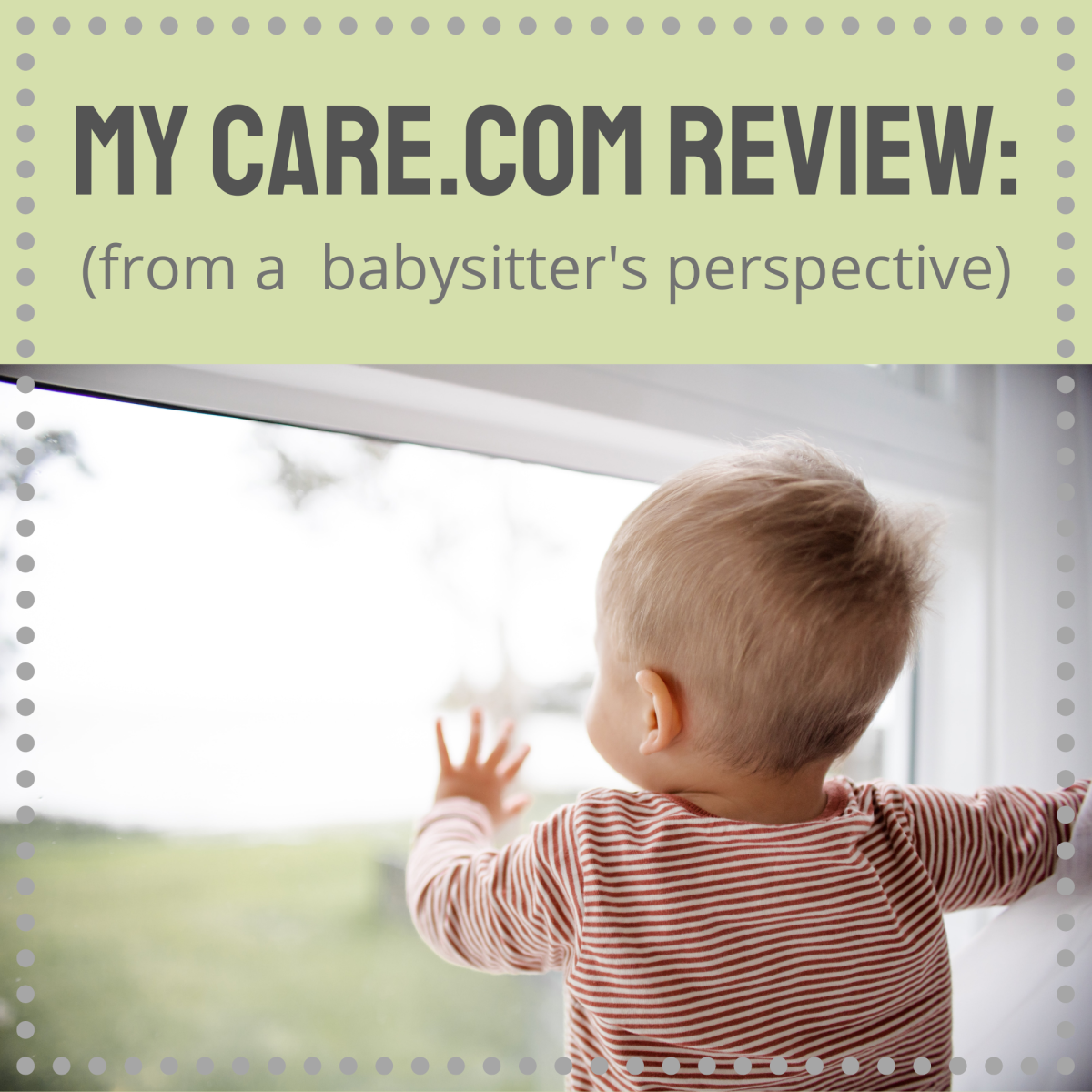 My review of Care.com, from the caregiver's perspective.