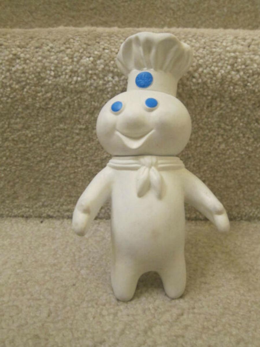 Poppin Fresh vintage doll