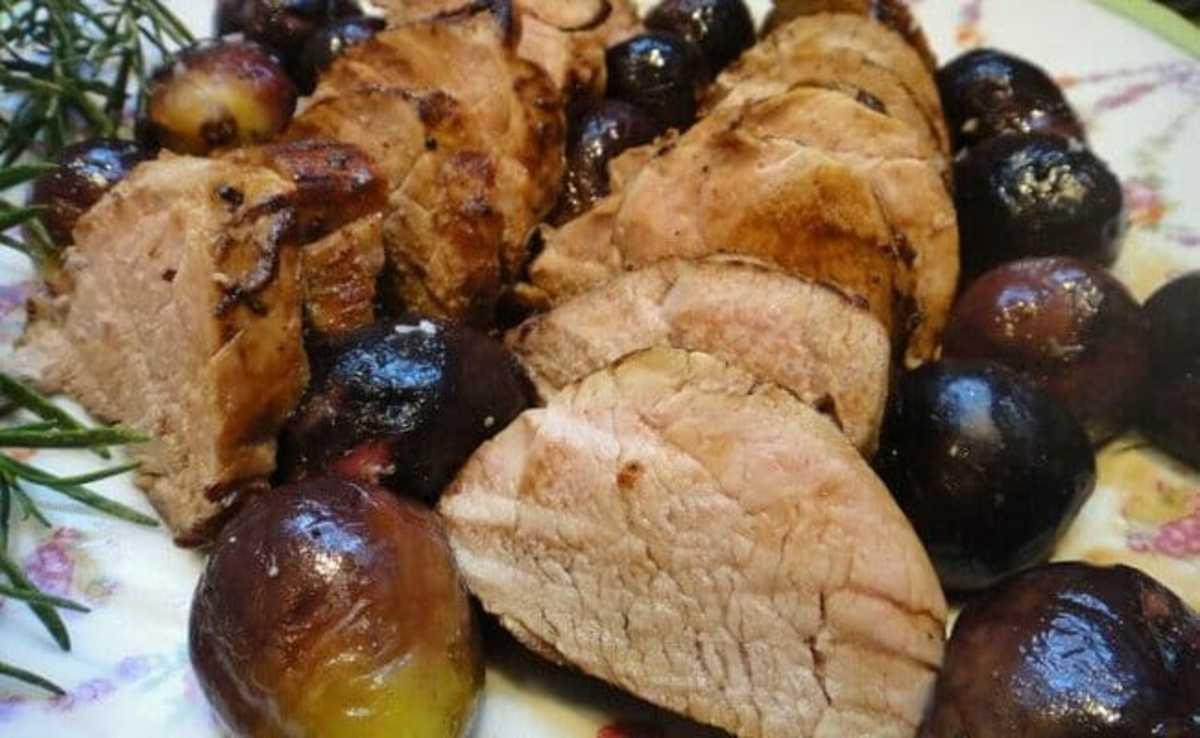 Pork Tenderloin With Roasted Figs