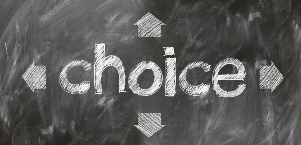 Choosing between customer or policy