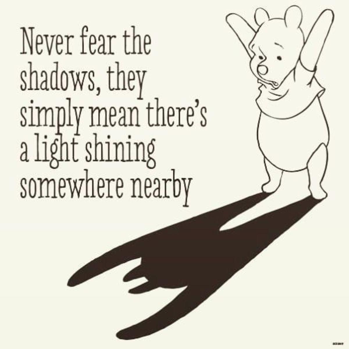 Never Fear the Shadows