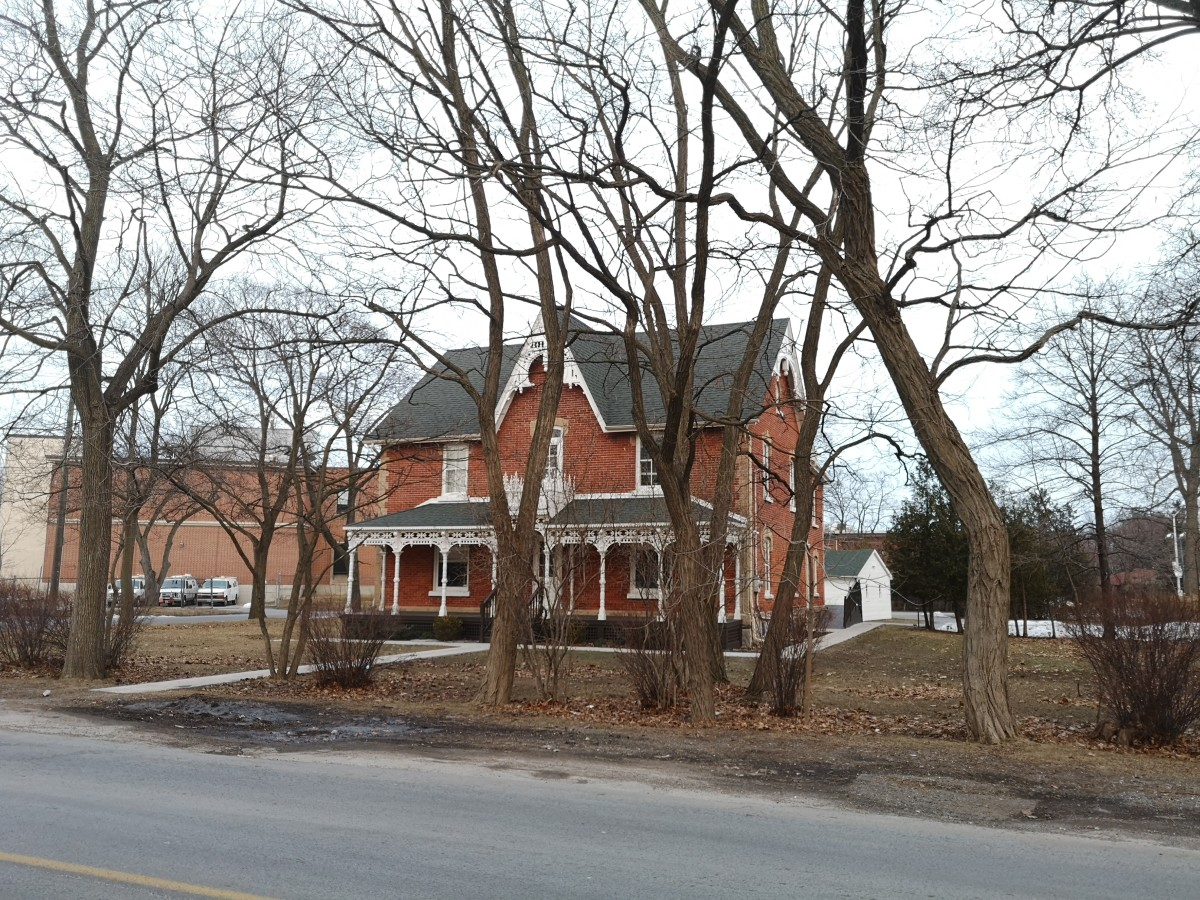 John Richardson House in West Hill, a neighbourhood of Scarborough, Toronto. Built in 1860, it is located on 27 Old Kingston Road.