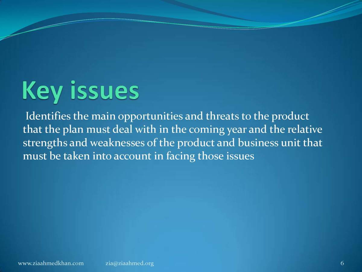 Key Issues and Challenges in Marketing Study