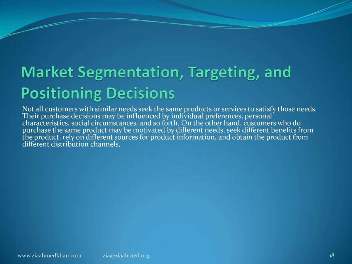 Market Segment, Target Market