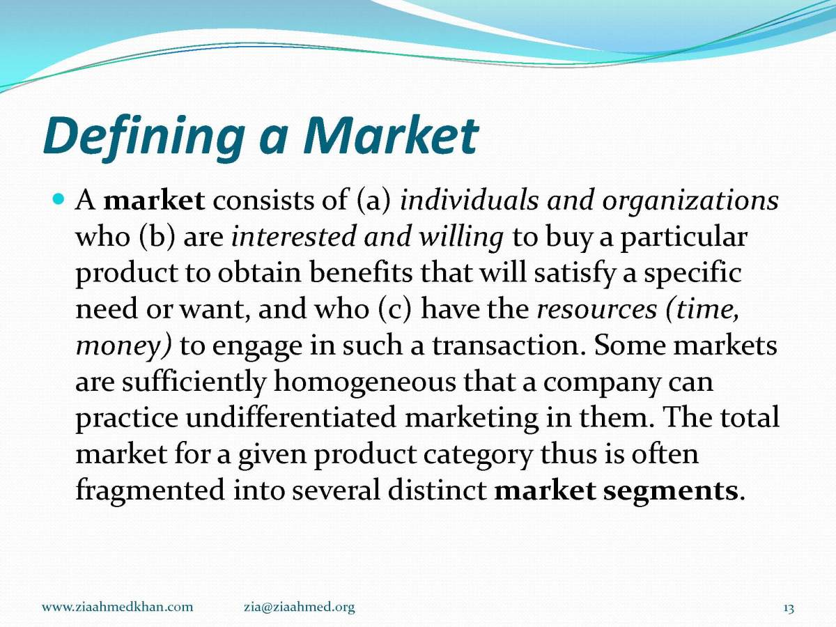 How to Define Market