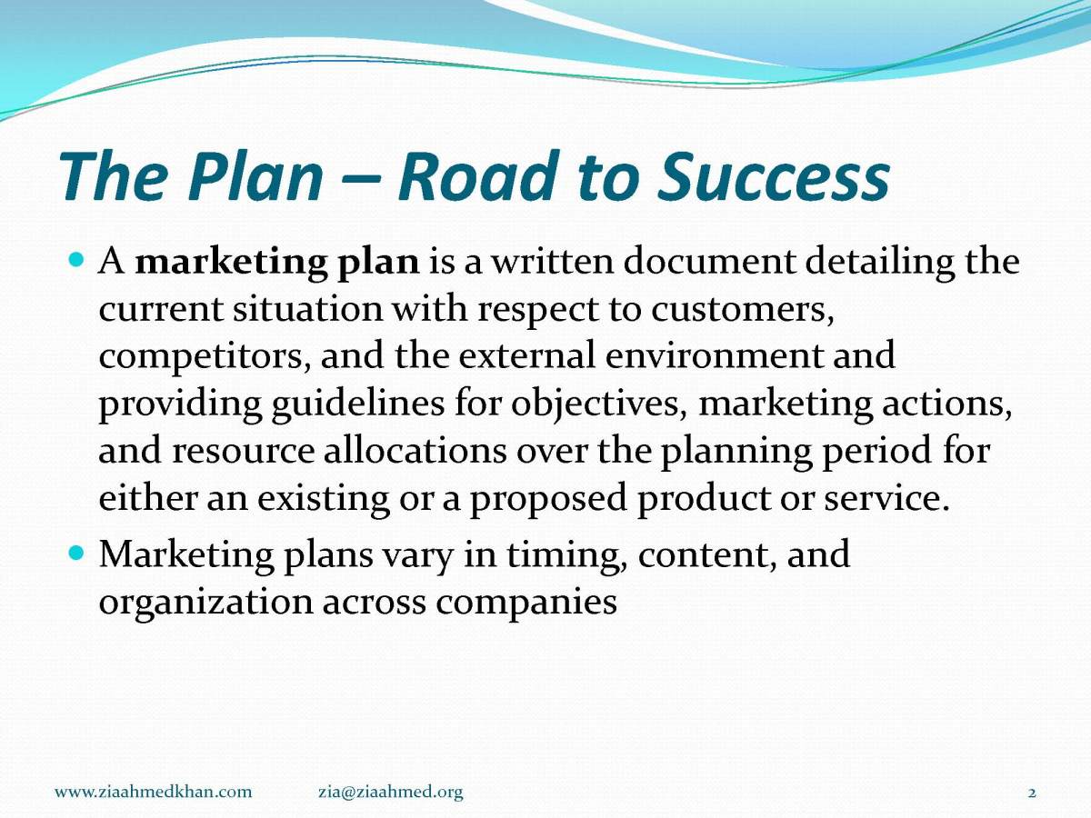 E Plan for Marketing