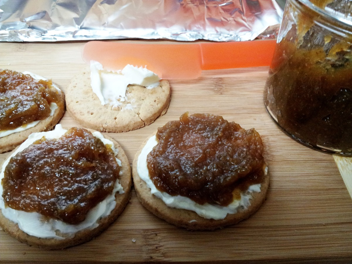 Fig Jam Mini Cheese Cakes