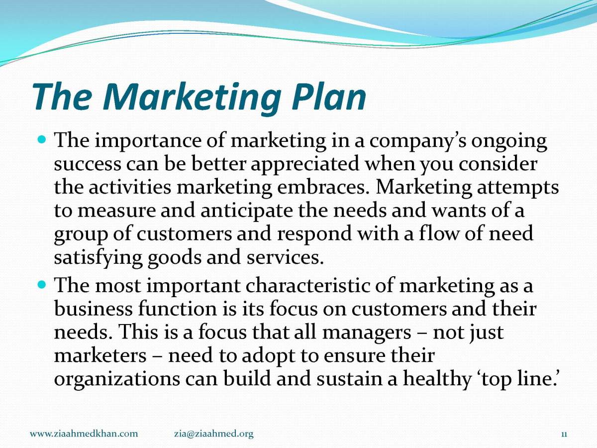 e Marketing Plan