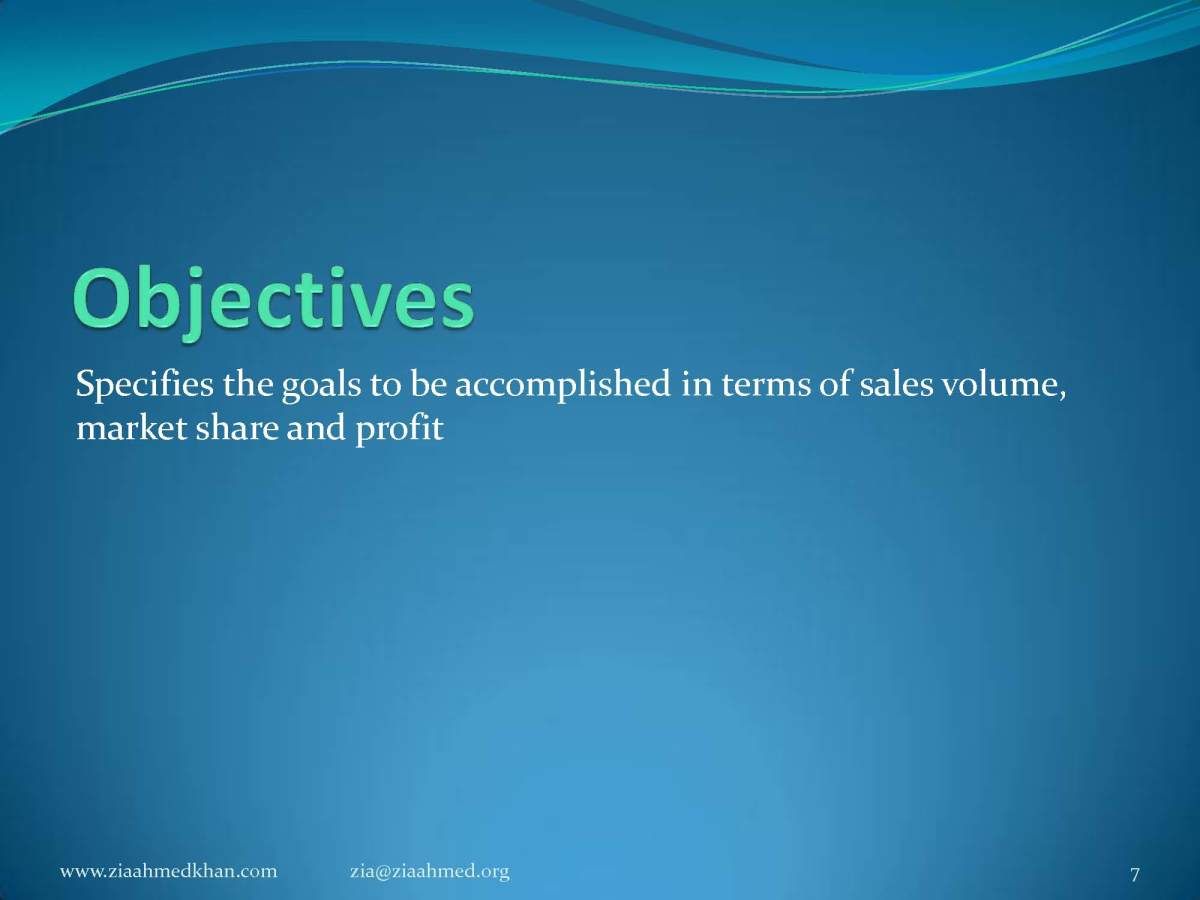 How to Define Marketing Objective