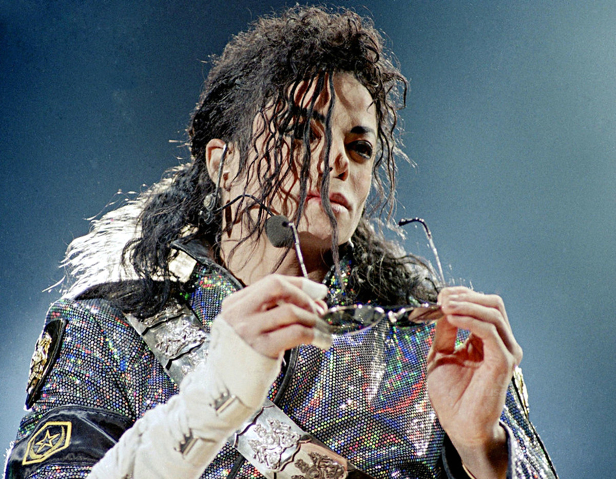 Icon of the 80s and beyond, Michael Jackson.