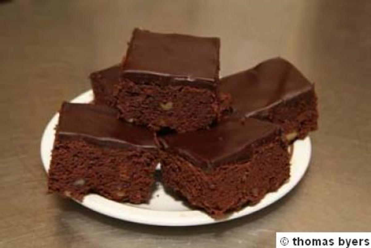 Here is a great recipe for brownies made from a box or package