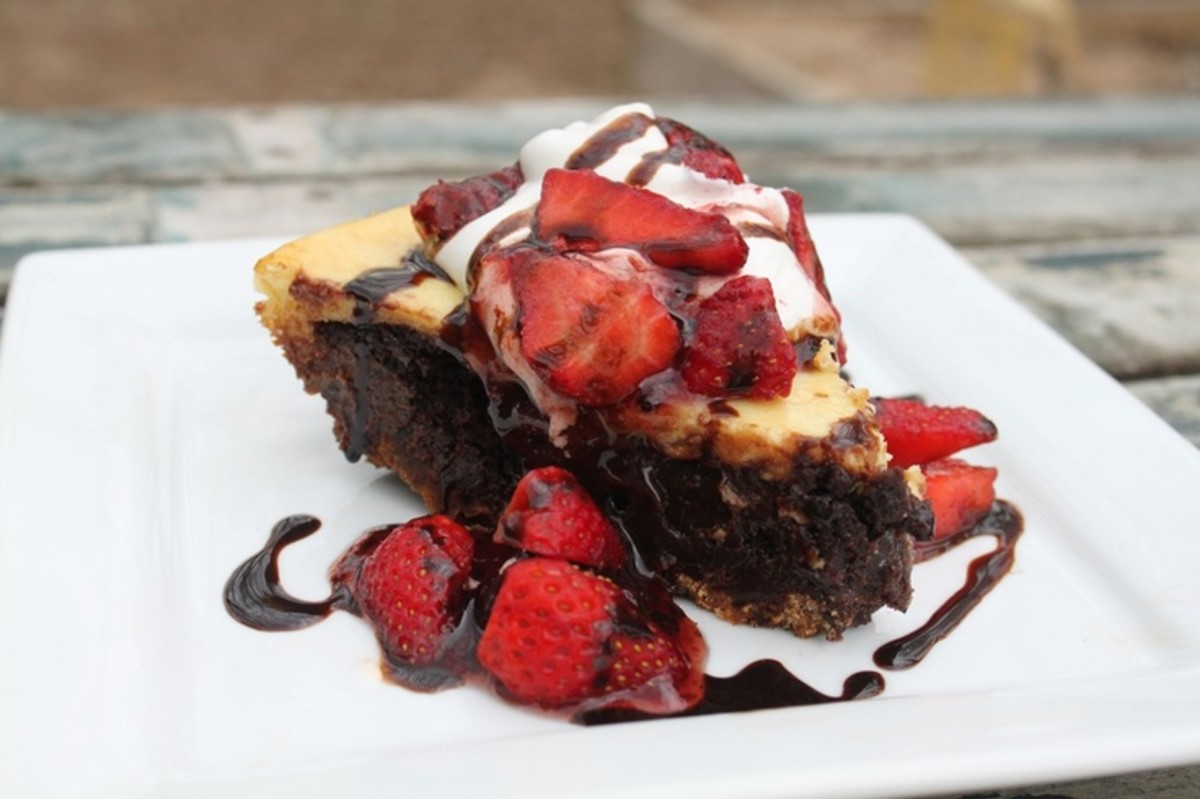 Have you ever seen a better looking brownie than banana split brownies. You just have to make these delicious brownies.