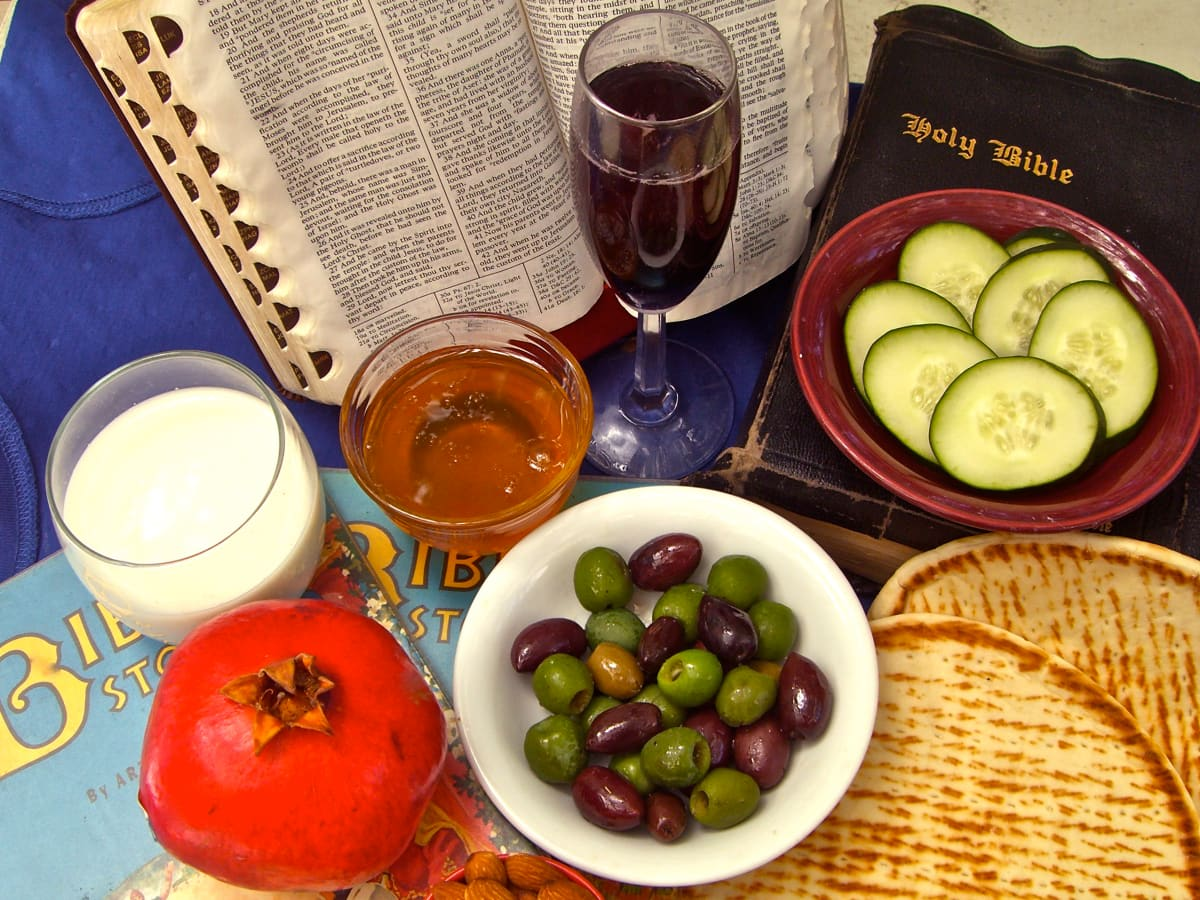 Meals in the Bible