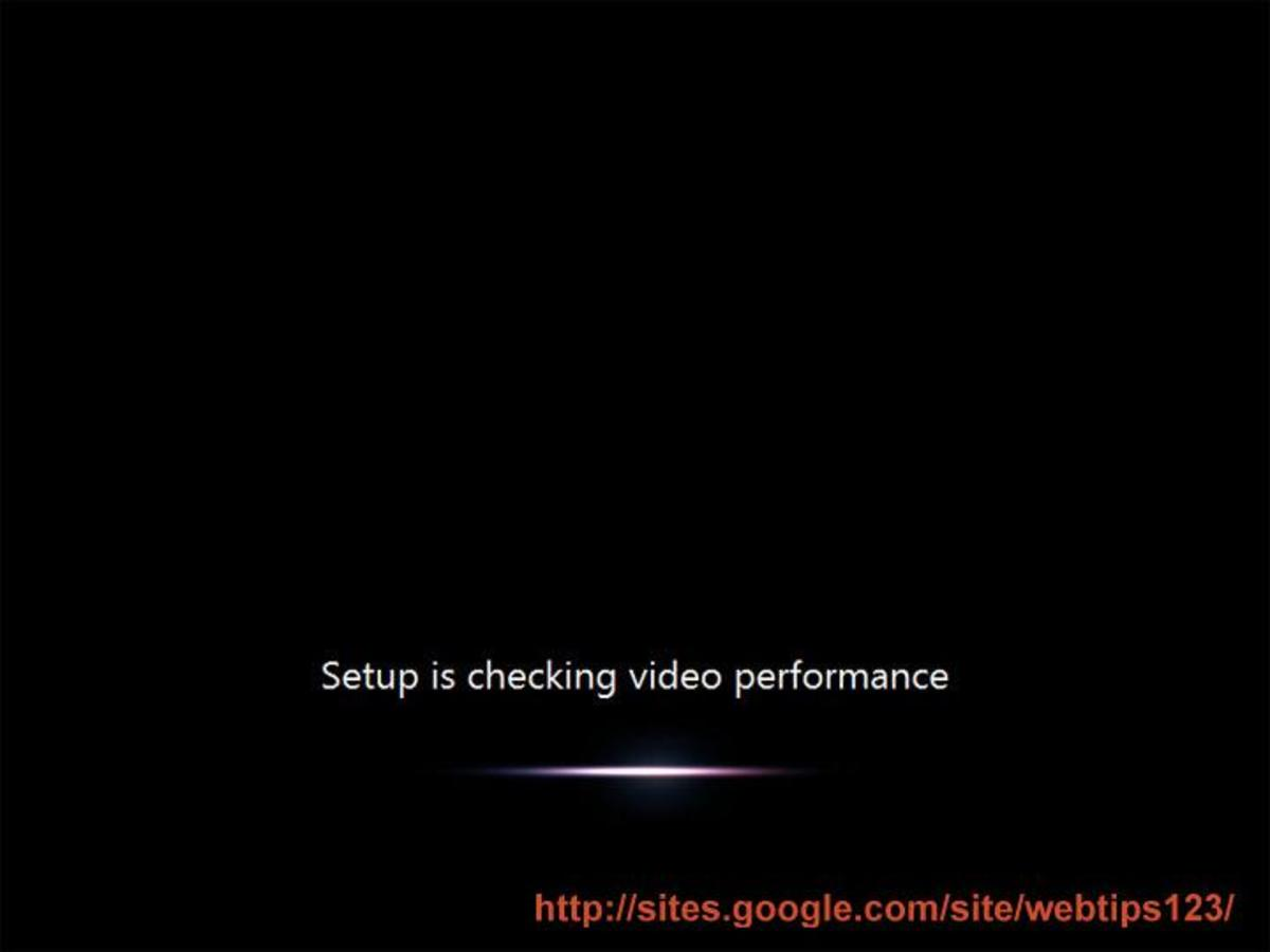 Video performance checking window