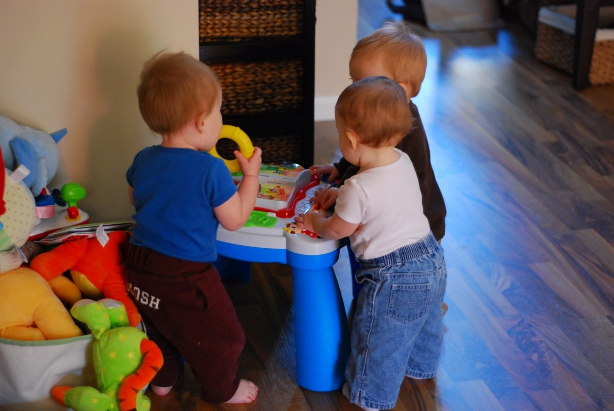 Trading childcare with another family not only saves money, but also cultivates some pretty cute friendships.