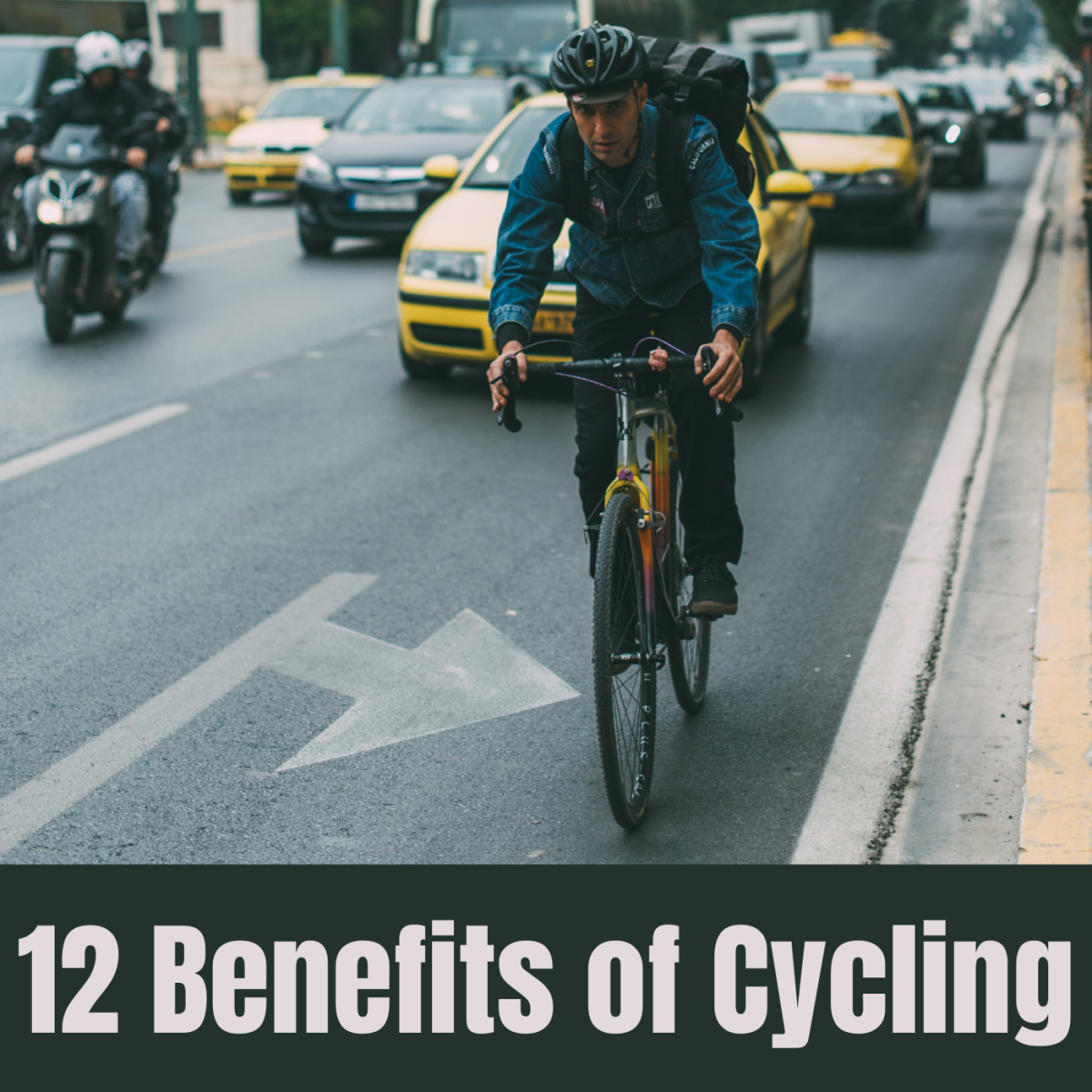 12 Benefits of Cycling