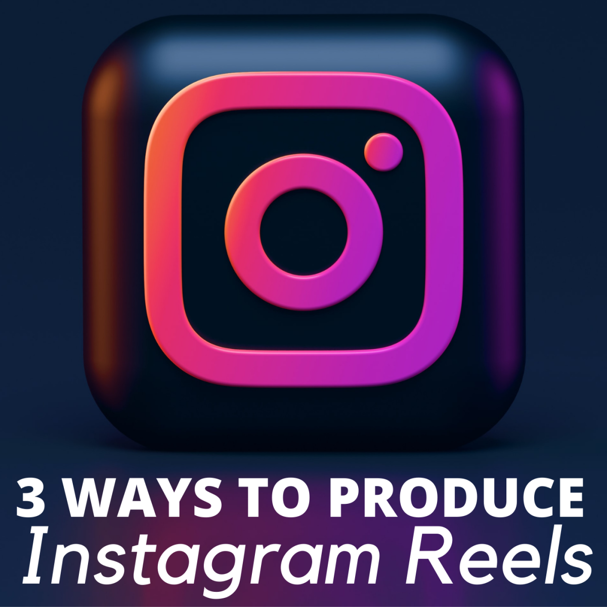 Producing reels on Instagram is a great way to expand your reach.