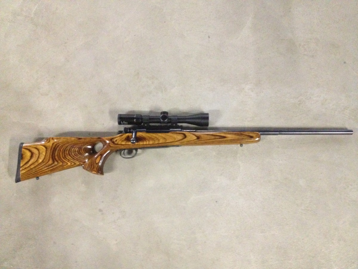 My Sporterized Mauser K98. 8MM Mauser. The original action is from WWI.