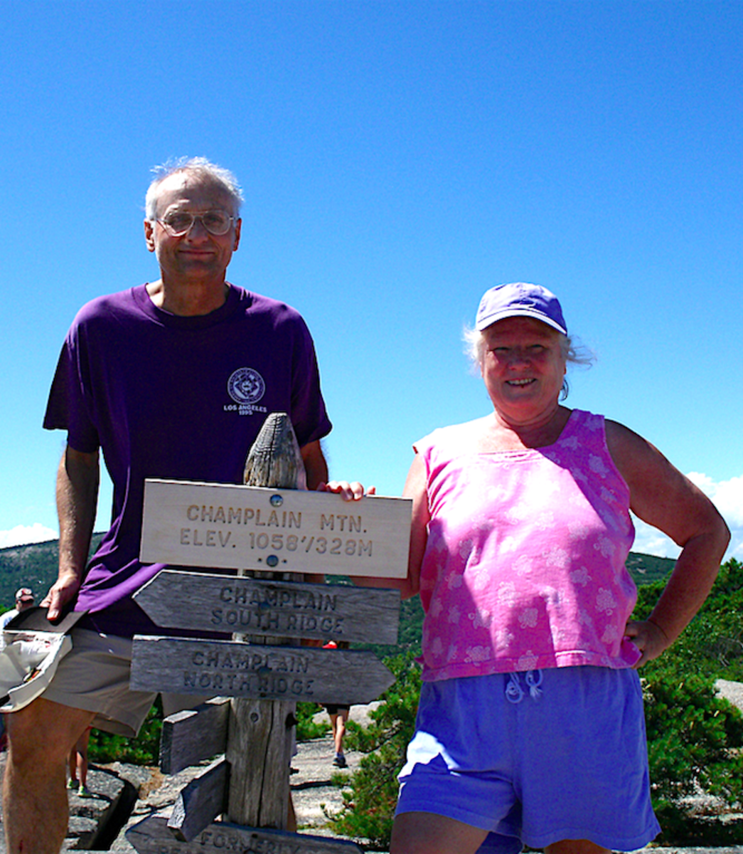Rock Point Diary: Hiking at My Age