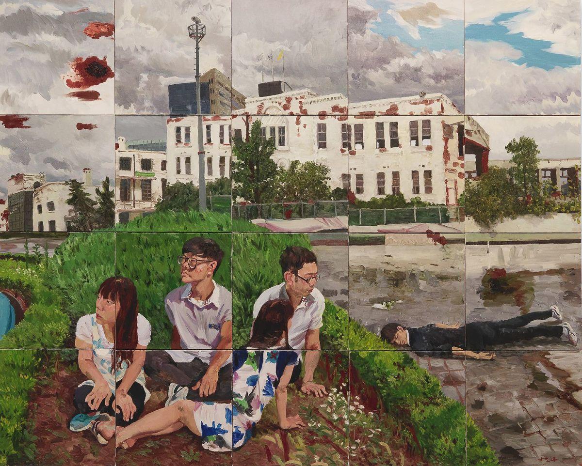 Time by Liu Xiaodong