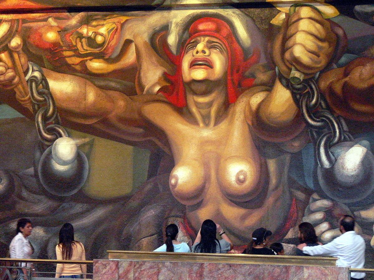 The New Democracy by David Alfaro Siqueiros