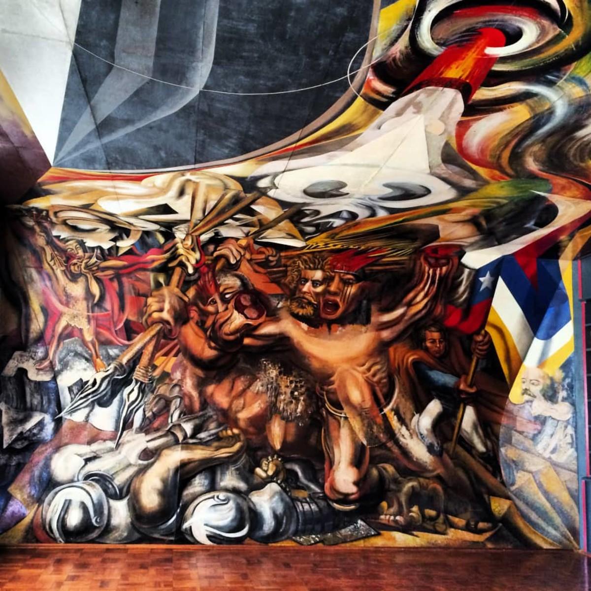 Prometheus by José Clemente Orozco