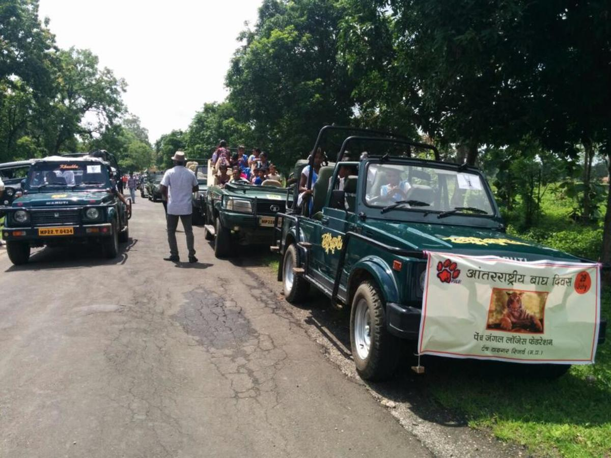 Save The Tiger Conservation Rally at Pench
