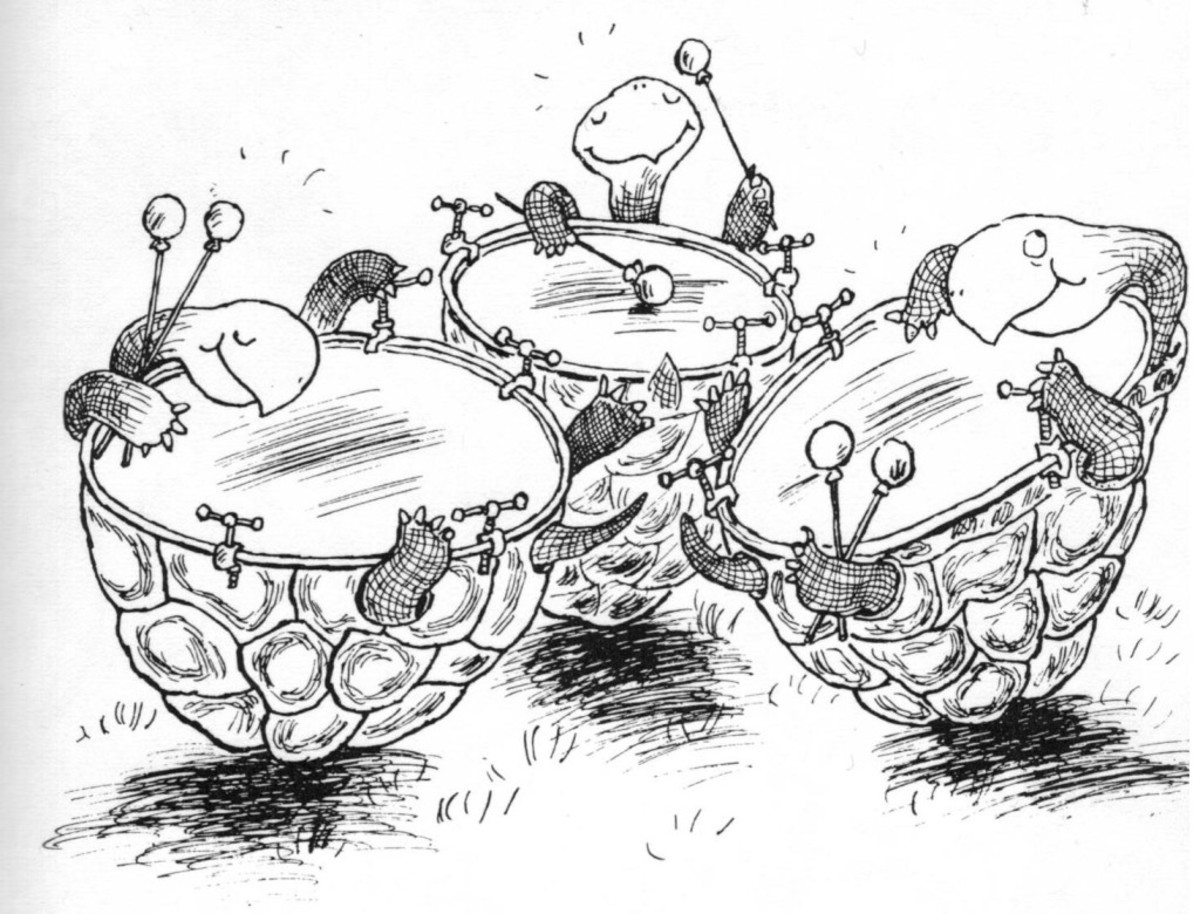 Hoffnung's imagined kettle drums.