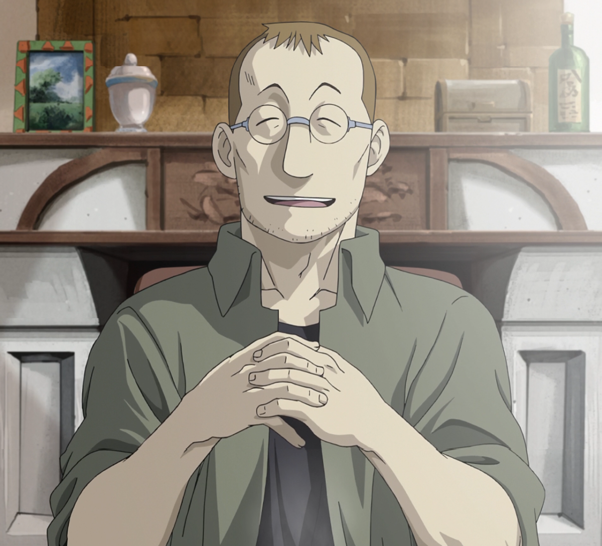 What. A. Scumbag.  Can you imagine a comedy/parody created where Shou Tucker is treated as a funny character, like what they did to the villains in Isekai Quartet?  I could never, nor would I forgive if it was done.
