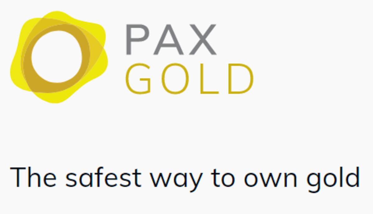 The PAX Gold logo
