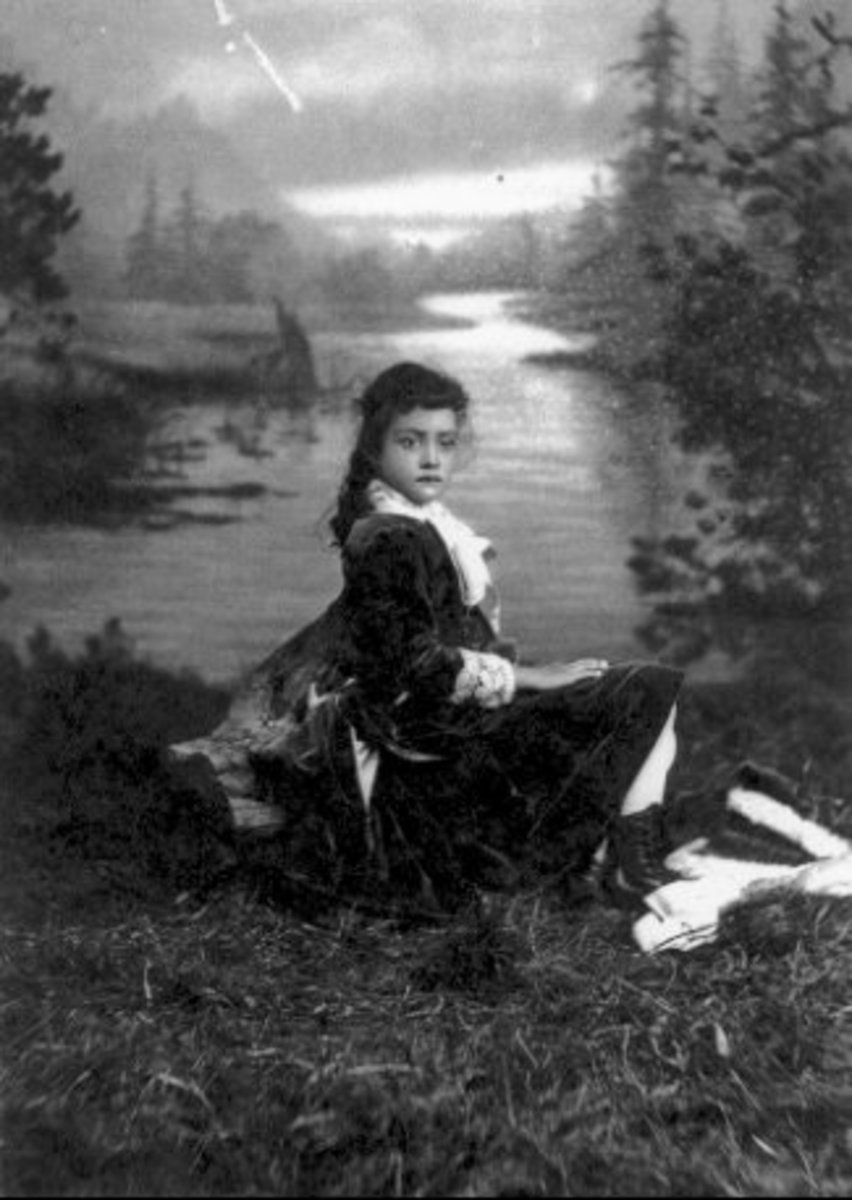 The Princess as a child