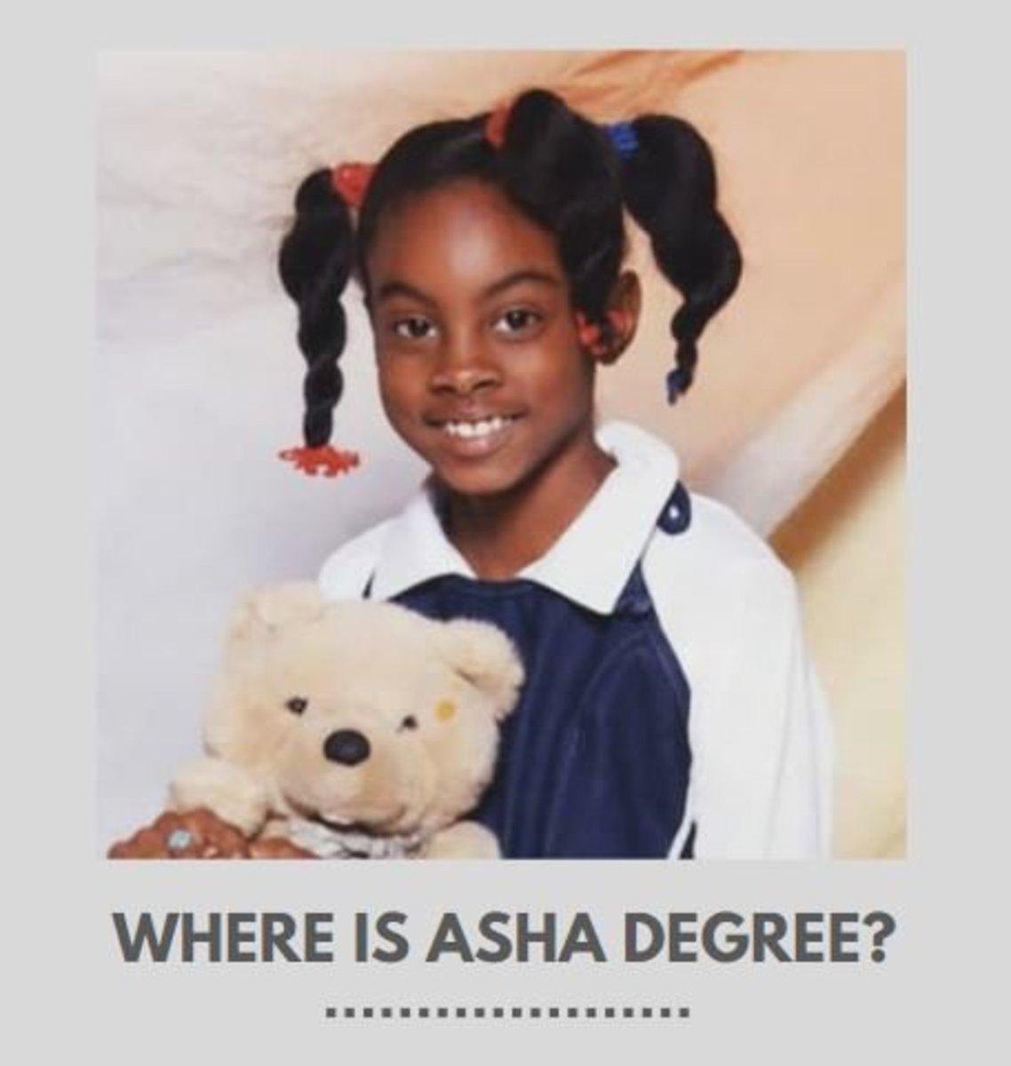 Where Is Asha Degree?