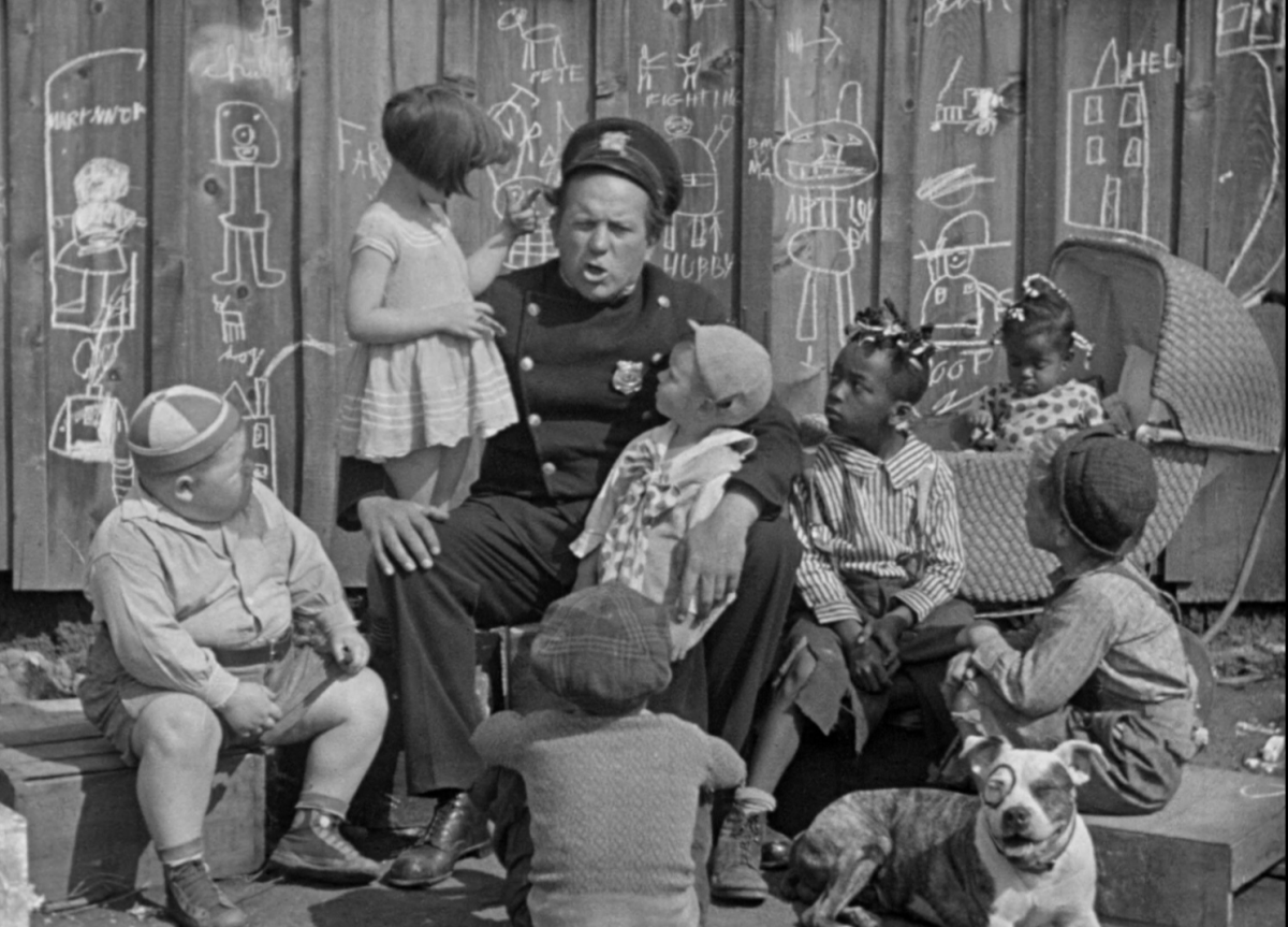 Edgar Kennedy and The Little Rascals
