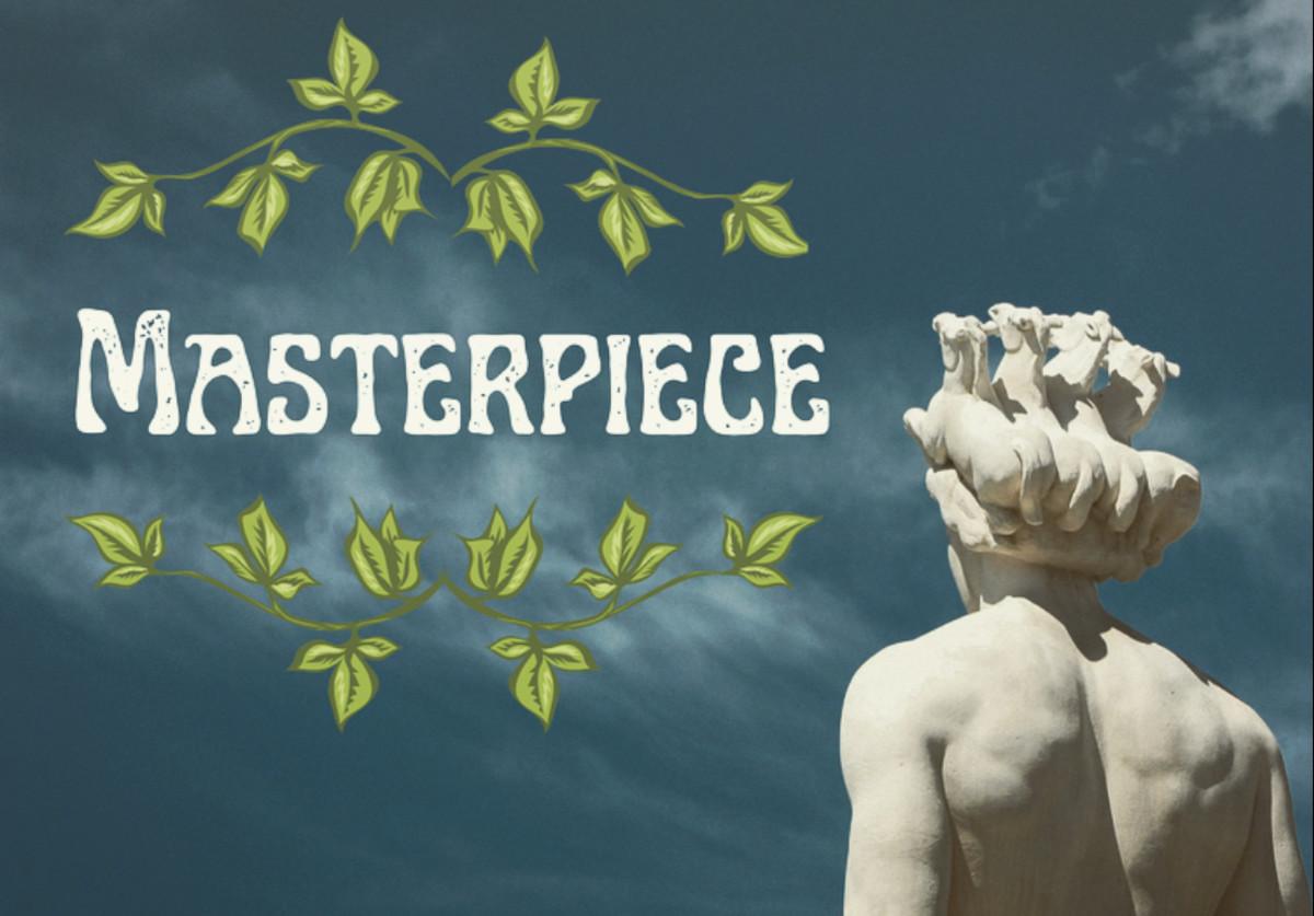 Masterpiece - A Poem