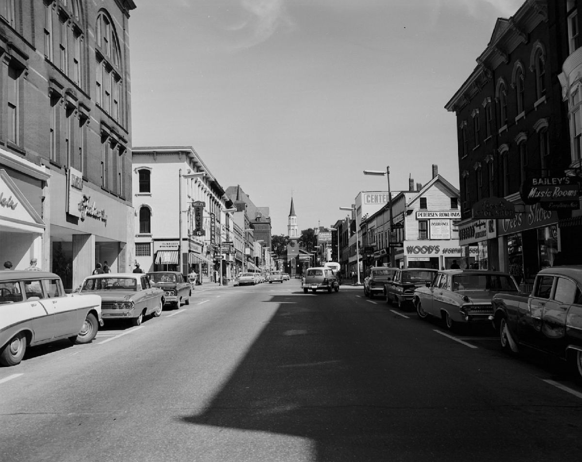 Church Street late 1950s