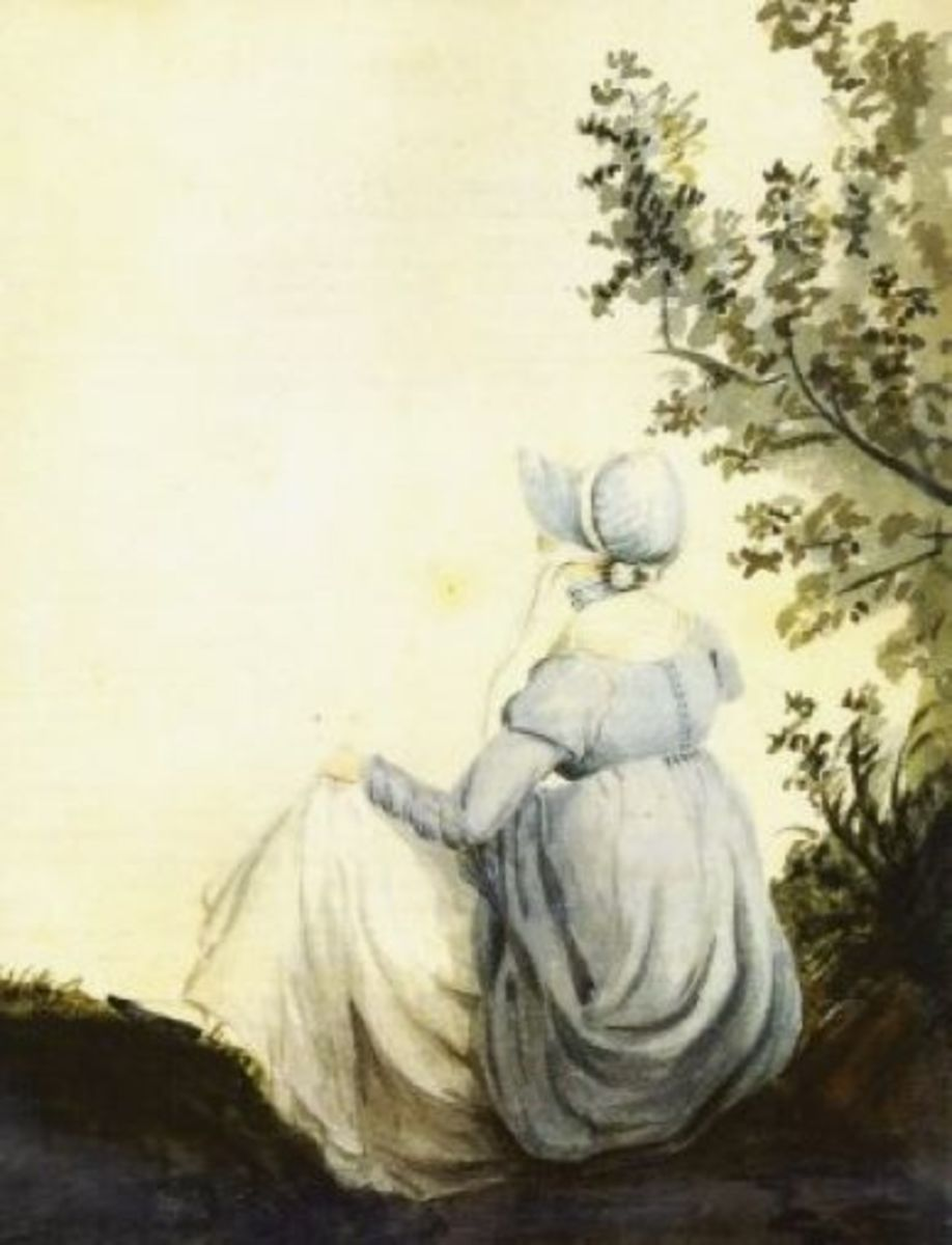 A watercolour of Jane by Cassandra Austen, her elder sister.