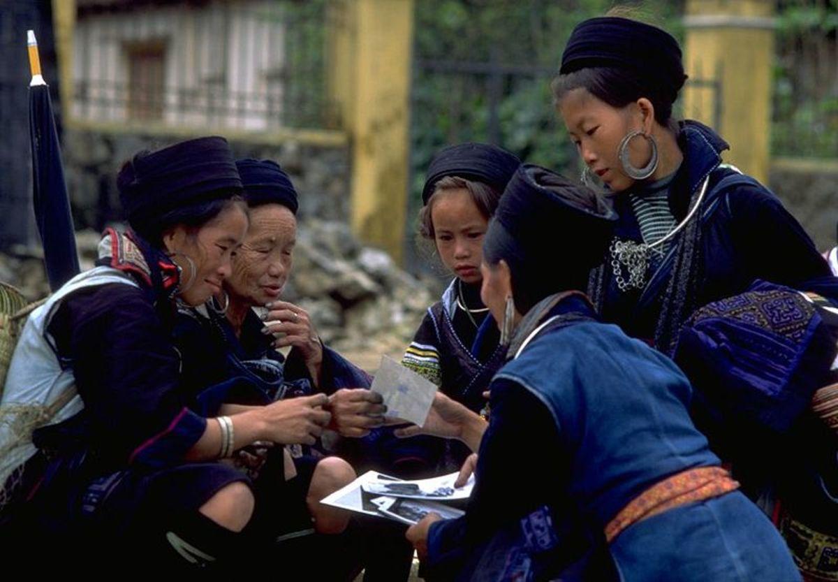 Hmong women.