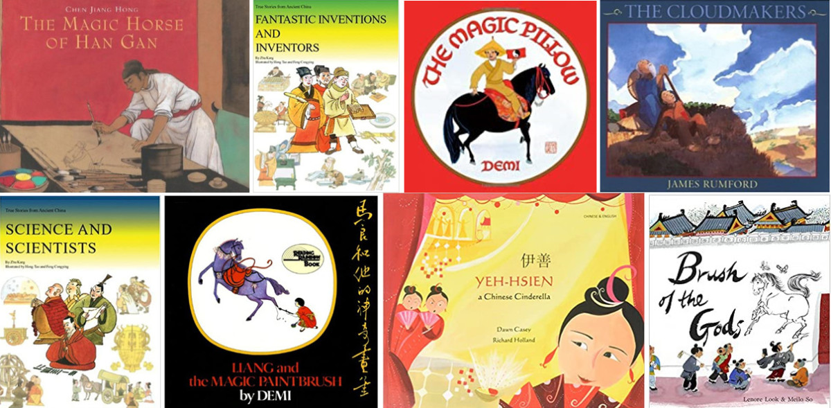 Tang Dynasty Books (Images are from amazon)