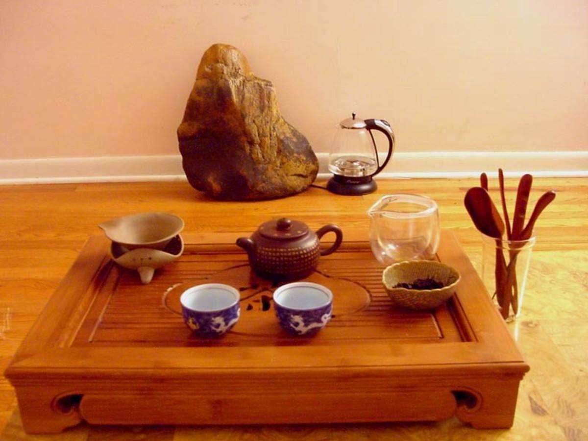 Chinese gongfu tea ceremony set