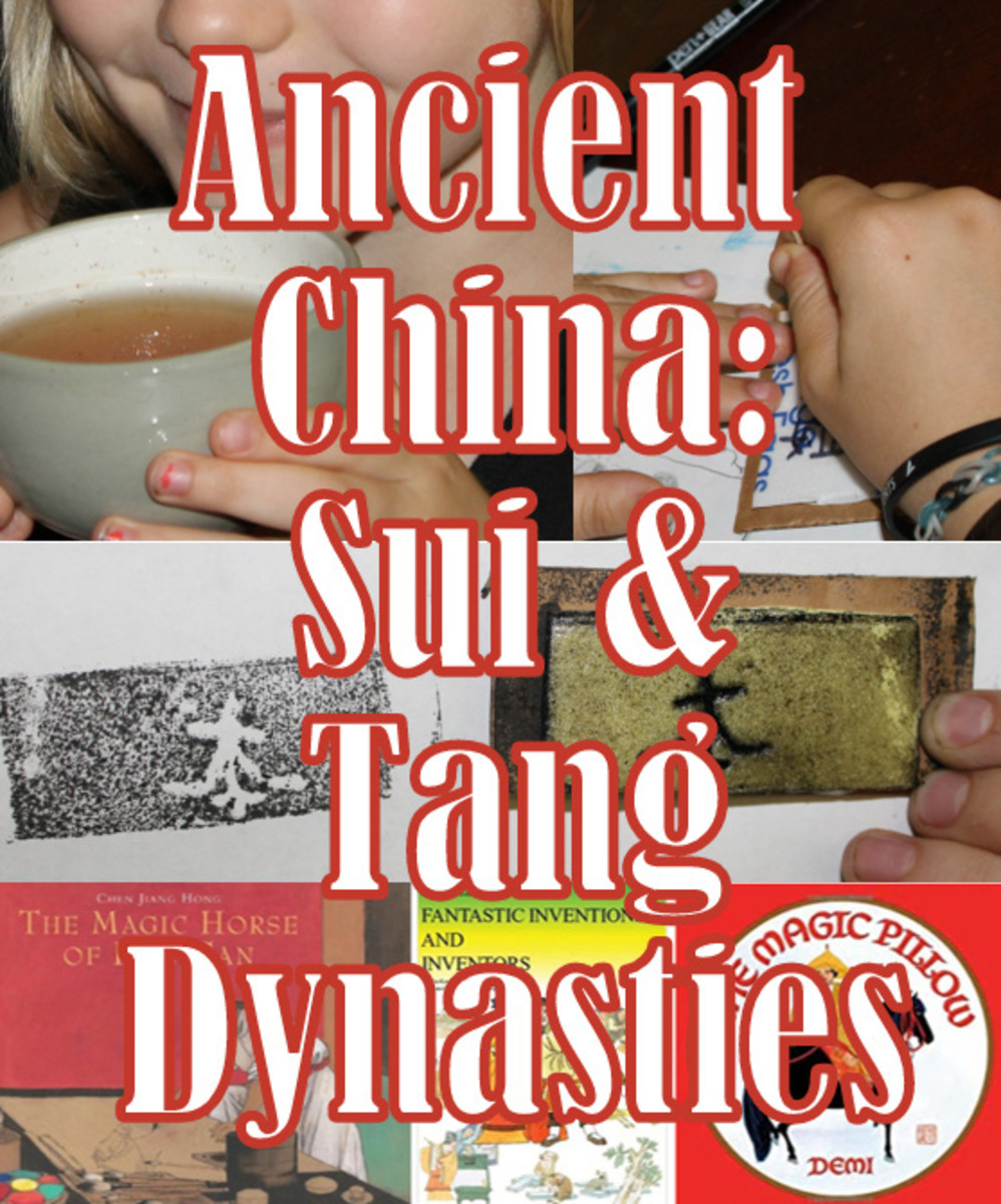 Ancient China Lesson Plan: Sui Dynasty & Tang Dynasty