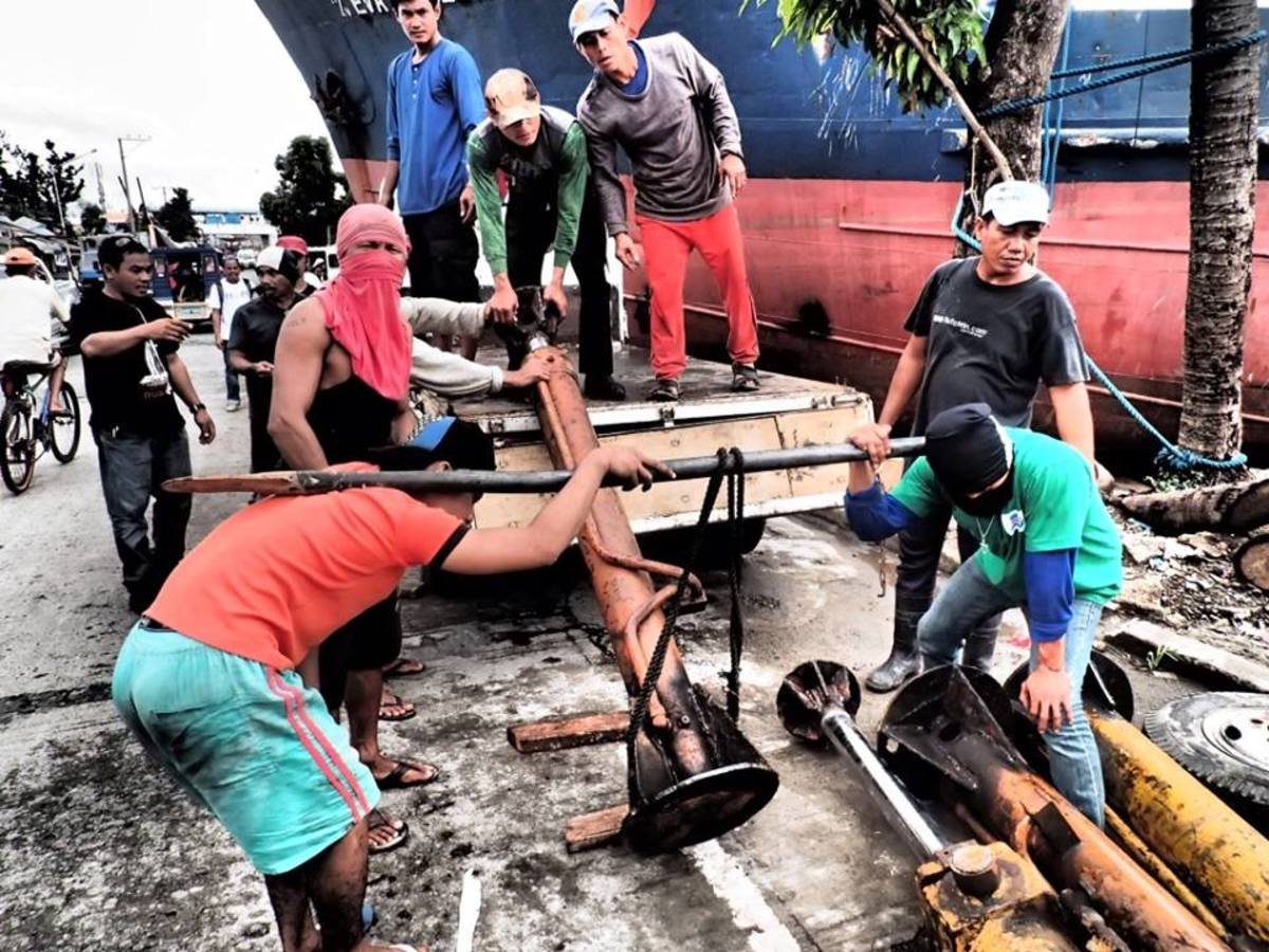 Rebuilding Tacloban in the Philippines after the Tsunami known as Typhoon Haiyan or Yolanda in 2013