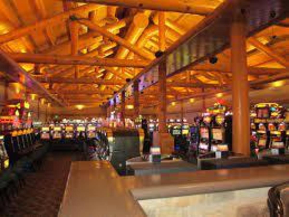 View of Slots at Saganning Eagles Landing Casino