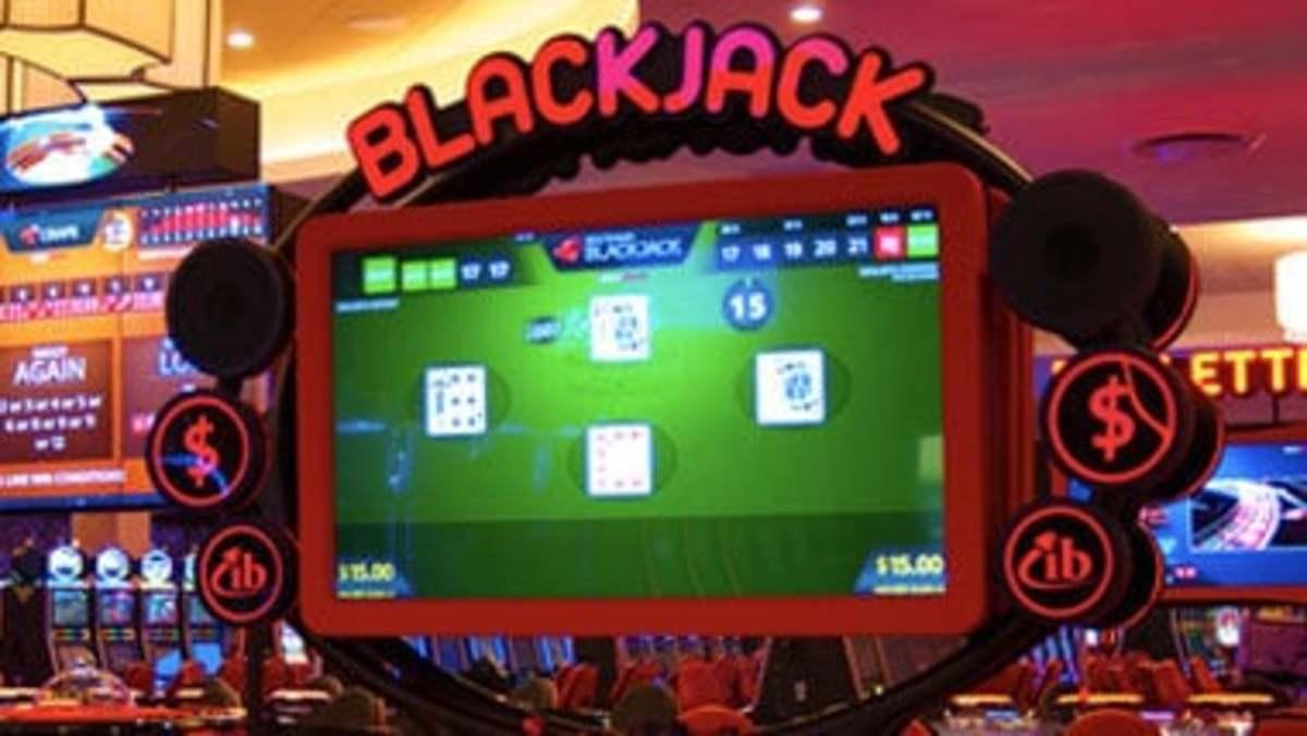 Electronic Blackjack at Saganning Eagles Casino