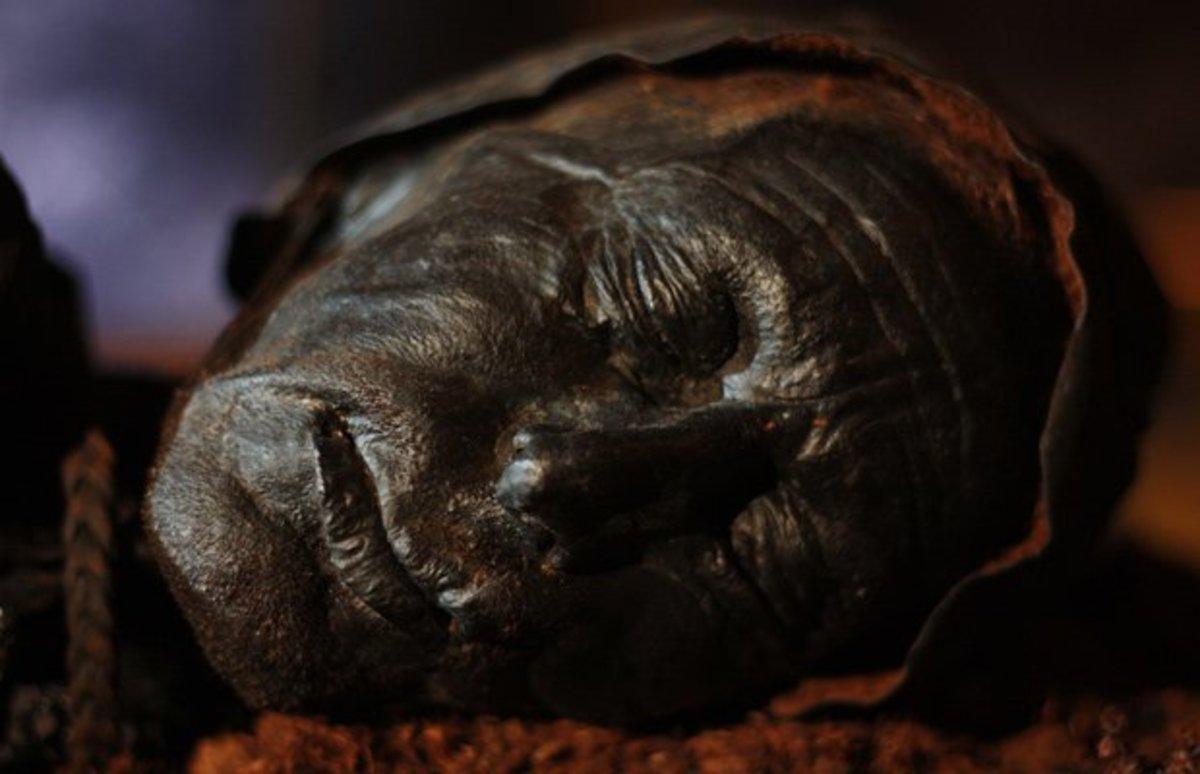 Tollund Man, 400-300 B.C.