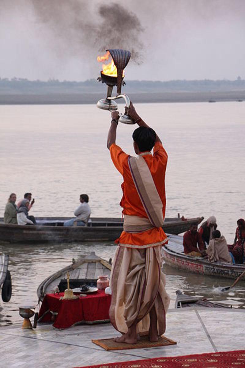 Hindu Funerals in Varanasi, India