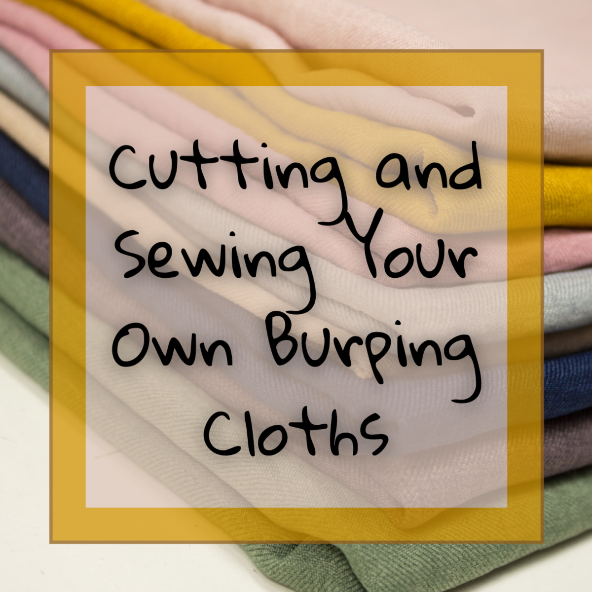 This step-by-step guide will help you design, cut, and sew homemade burping cloths for babies.