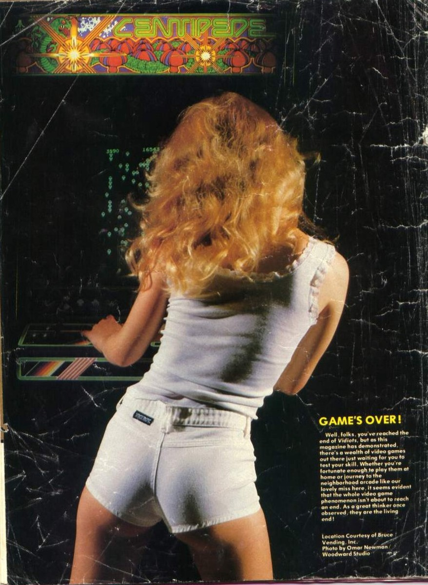 Apparently Girls Really Enjoyed Playing Centipede