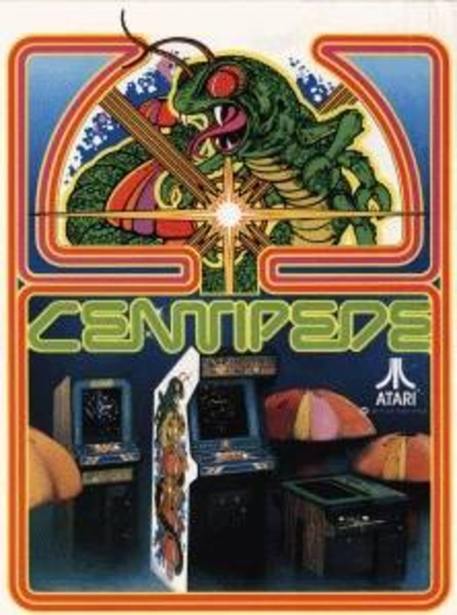 The Famous Atari Flyer For Centipede