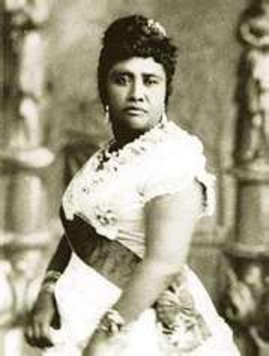 Queen Lili'uokalani Image Credit: http://www.justiceforhawaiians.com/